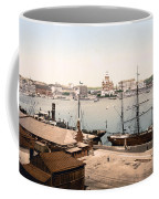 Helsinki Finland - Russian Cathedral And Harbor Coffee Mug