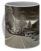 Helvetia Wv Monochrome Coffee Mug by Steve Harrington