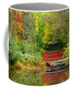 Henes Park Pond Bridge Coffee Mug