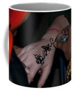 Henna Hand Coffee Mug