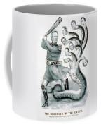 Hercules Of The Union, 1861 Coffee Mug