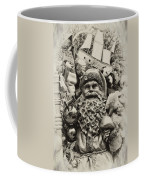 Here Comes Santa Claus Coffee Mug by Bill Cannon