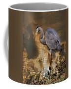 Heron Bronze Coffee Mug