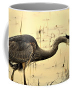 Heron Fishing Coffee Mug