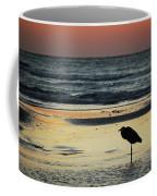 Heron Waiting For The Sunrise Coffee Mug