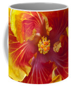 Hibiscus Center Coffee Mug