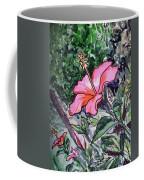 Hibiscus Sketchbook Project Down My Street  Coffee Mug by Irina Sztukowski