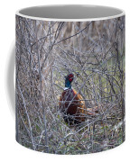 Hiding Pheasant Coffee Mug