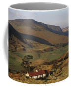 High Angle View Of A House, County Coffee Mug