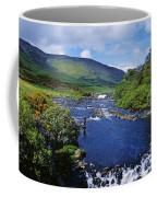High Angle View Of A Waterfall Coffee Mug