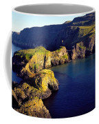 High Angle View Of Rock Formations In Coffee Mug