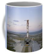 High-angle View Of The Apollo 8 Coffee Mug