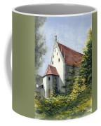 High Castle Courtyard Coffee Mug