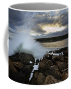 High Tide At Otter Point Coffee Mug