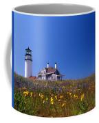 Highland Lighthouse Cape Cod Coffee Mug by Skip Willits