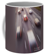 Highway Traffic In Motion Coffee Mug