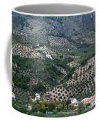 Hills Dales And Vineyards Coffee Mug