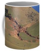 Hillside Erosion Caused By Run Coffee Mug