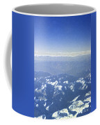 Himalayas Blue Coffee Mug