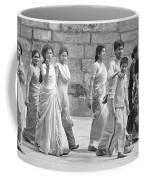 Hindu Pilgrims In Madurai Coffee Mug