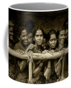 Hindu Pilgrims On New Year's Day Coffee Mug