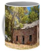 Historic Ruined Brick Building In Rural Farming Community - Utah Coffee Mug
