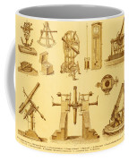 Historical Astronomy Instruments Coffee Mug