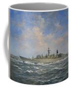 H.m.s. Chatham Type 22 - Batch 3 Coffee Mug by Richard Willis