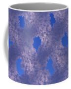 Hoar Frost On Fence Coffee Mug