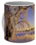 Hoar Frost On Tree, Milton, Prince Coffee Mug