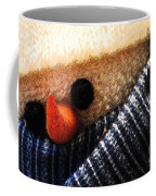 Hobo Snowman Closeup IIi Coffee Mug