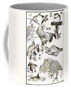 Hokusai: Birds Coffee Mug