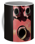 Hollow Face Coffee Mug