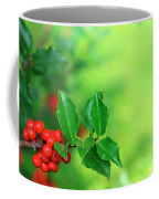 Holly Branch Coffee Mug