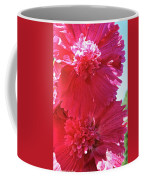 Hollyhock Duet Coffee Mug