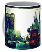 Hollywood Boulevard In La Coffee Mug
