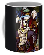 Holy Family Stained Glass Coffee Mug