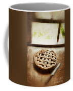 Home Made Pie Cooling By Open Window Coffee Mug