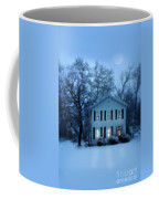 Home On A Wintery Evening Coffee Mug