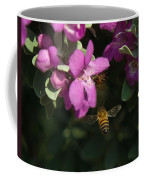 Honey Bees On Sage 3 Coffee Mug