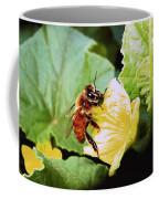 Honeybee And Cantalope Coffee Mug