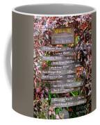 Honolulu Zoo Signs Coffee Mug