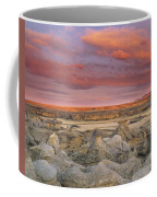 Hoodoos, Milk River Badlands, Writing Coffee Mug