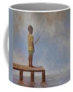 Hoping For The Big One Coffee Mug