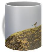 Hopping Blue Bird Coffee Mug