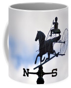 Horse And Buggy Weather Vane Coffee Mug