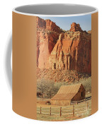 Horse Barn In Fruita Utah Coffee Mug