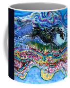Horse Born Of Moon Energy Coffee Mug by Carol Law Conklin