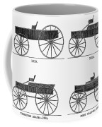 Horse Carriages, 1810-1860 Coffee Mug