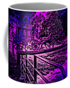 Horse Drawn Carriage In The Snow Coffee Mug